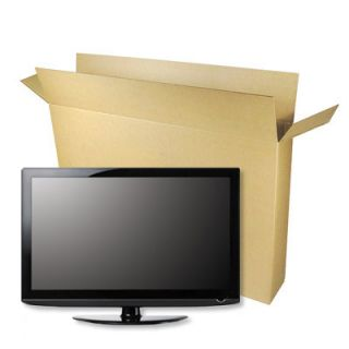 TV Moving Box for Flat Screen TV Up to 46 LCD LED Plasma Storage