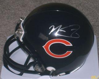 Matt Forte Signed Autographed Chicago Bears Mini Helmet