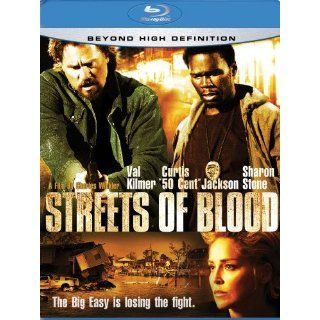 Streets of Blood Blu Ray Disc 2009 Val Kilmer Curtis 50 Cent Jackson