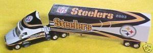 2003 Pittsburgh Steelers Diecast Collectibles NFL Fleer Truck