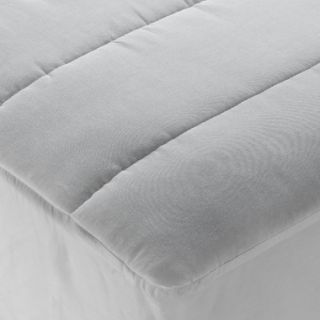 Home Design White King Size Cotton Mattress Pad Topper Bed Bedding New