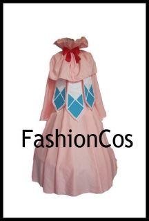 Fairy Tail Mavis Vermillion Founder Cosplay Costume Halloween