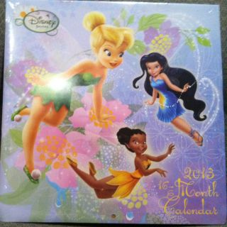 Disney Fairies Wall Calendar 2013 16 Month Calendar