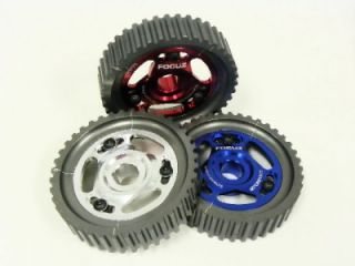AL7075 T6 CNC Billet aluminum and Free Cam Gear Key, Will Fit