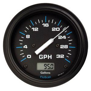 Floscan Single Engine Fuel Meter EFI Carb O B Only 150 200HP 5520 231