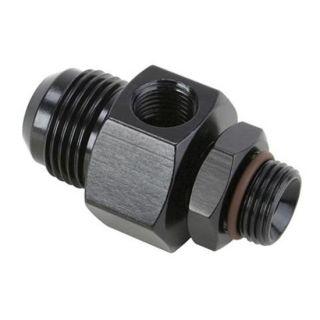 New AN12 Fuel Pump Inlet Fitting w/ Return Port, Sprint/Midget Racing