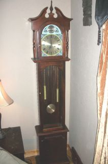 Tempus Fugit Grandfather Clock 31 Day Chime Wind Up