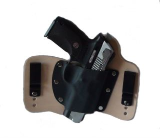 FoxX Leather & Kydex IWB Holster Ruger P345 .45 ACP Hybrid Holster RH