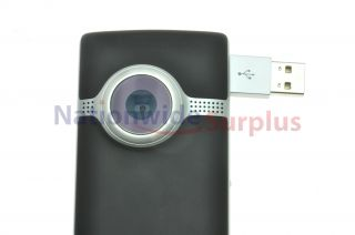 Cisco Flip UltraHD Camcorder 3rd Gen 8GB 2hrs Black U32120B w Li ion