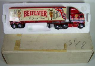 58 Matchbox 1995 Freightliner Beefeater Semi Tractor Trailer Spirit