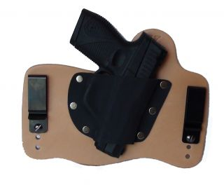 FoxX Leather Kydex IWB Holster Taurus PT709 Slim 9MM Hybrid Holster RH