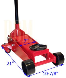 Ton Hydraulic Floor Jack Lift Car Truck SUV Auto Shop Floor Jack