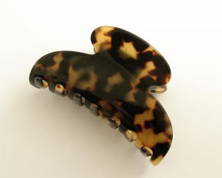 Clip Alligator Hair Clip France Luxe Couture Made in France New w Tag