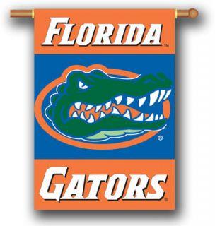 Florida Gators 2 Sided 28 X 40 Banner House Flag W/ Pole Sleeve