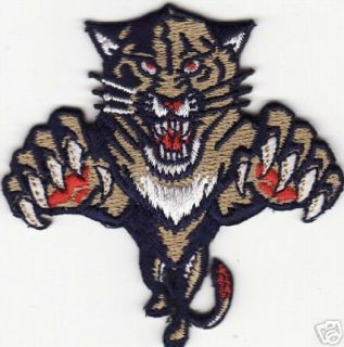 Florida Panthers NHL Hockey 2 5 Team Logo Patch