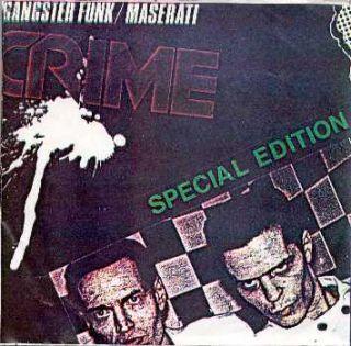 Crime 7 Gangster Funk Few Made RARE Sleeve Punk KBD Private Test