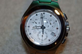 Mens Bulova Marine Star Chronograph 96B98 Watch