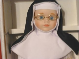 Christmas Gift Sister Mary Francis Dynasty Porcelain Bisque Nun Doll
