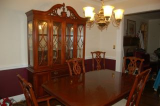Great Deal Lexington Furniture Table 8 Chairs China Cabinet