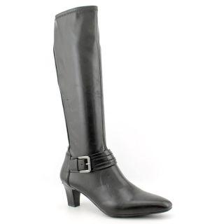 Franco Sarto Upton Womens Size 9.5 Black Synthetic Fashion   Knee High