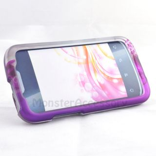 Rubberized Hard Case Cover for Huawei Fusion II 2 U8665 at T