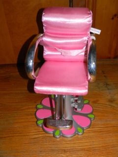 FRIENDS BOUTIQUE DOLL HAIR STYLING CHAIR~FITS AMERICAN GIRL / BATTAT