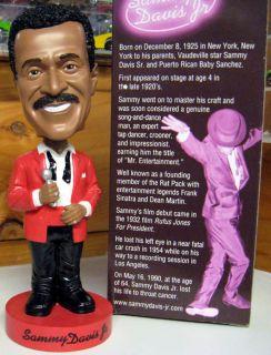 Sammy Davis Jr Bobblehead Bobble head Doll Rat Pack Frank Sinatra Dean