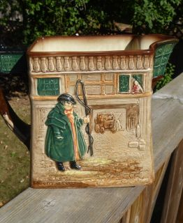 Royal Doulton Lambeth The Pickwick Papers by Charles Dickens Water