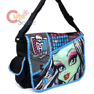 Monster High Frankie Stein School Messenger Bag Freaky Frankie