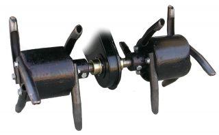 Core Plug Lawn Aerator Attachment for Front Tine Garden Tiller