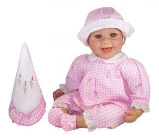 Molly P Originals Gabriella 16 Vinyl & Cloth Doll Baby With Blanket