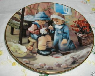 M J Hummel Tender Loving Care Plate