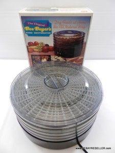 The Original Bee Beyers Food Dehydrator Jerky Maker Machine Excellent