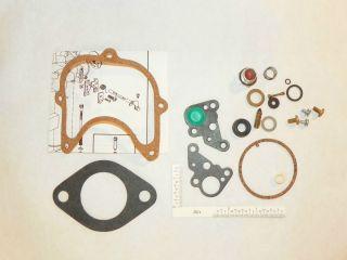 Fuel System Carburetor Repair Kit Holley Model 1970 1 Barrel 1978 Ford