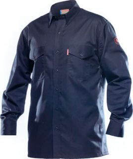 Flame Resistant Long Sleeve Shirt Navy Blue 1004FR Fr Clothing