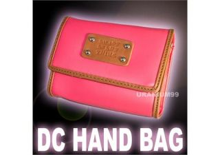 Digital Camera Bag w/ Shoulder Strap Pink for Nikon Canon Olympus Sony