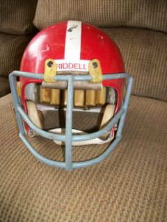 Vintage Riddell Football Helmet Face Mask