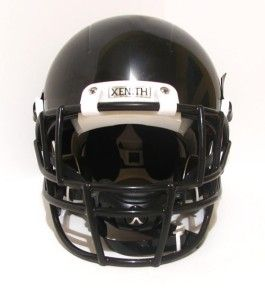 BLACK YOUTH SMALL X2 REGULAR FOOTBALL HELMET KIDS FACE MASK CHIN STRAP
