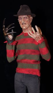 Freddy Krueger Custom Art 12 1 6 Scale Figure Nightmare Elm Sideshow