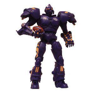 Minnesota Vikings NFL 10 Team Cleatus Fox Robot New in Box