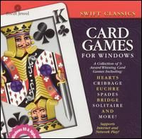 Swift Classic Card Games PC CD Cribbage Euchre Crazy Eights Hearts