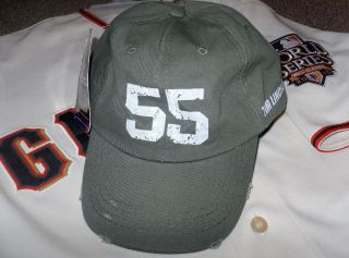 Tim Lincecum Military Adjustable Hat Giants Army Wounded Warrior