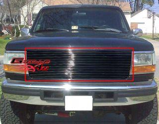 92 96 Ford Bronco F Series Pickup Billet Grille Insert