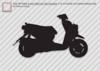 Yamaha Zuma 125 Sticker Decal Die Cut Scooter 125cc