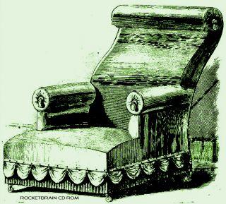 Antique Victorian furniture making upholster repair woodworking manual