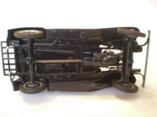 Hubley Vintage Solid Metal Ford Model A Coupe Car 1 25 Scale