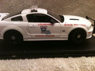 Louisiana State Police UT Ford Mustang Diecast Model Car