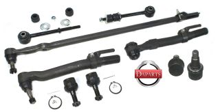 4wd Suspension Ford F250 Super Duty Drag Link Tie Rods Ends Stabilizer