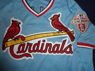 David Freese St. Louis Cardinals Jersey Size XXXL 56 Sewn Cool Base