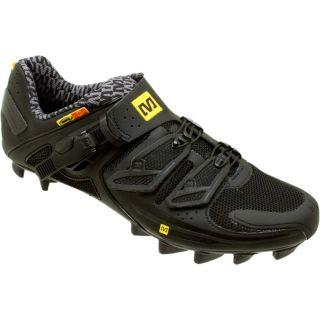 Mavic Fury Mountain Bike Shoes Carbon Fiber Black Size 8 5 US Mens